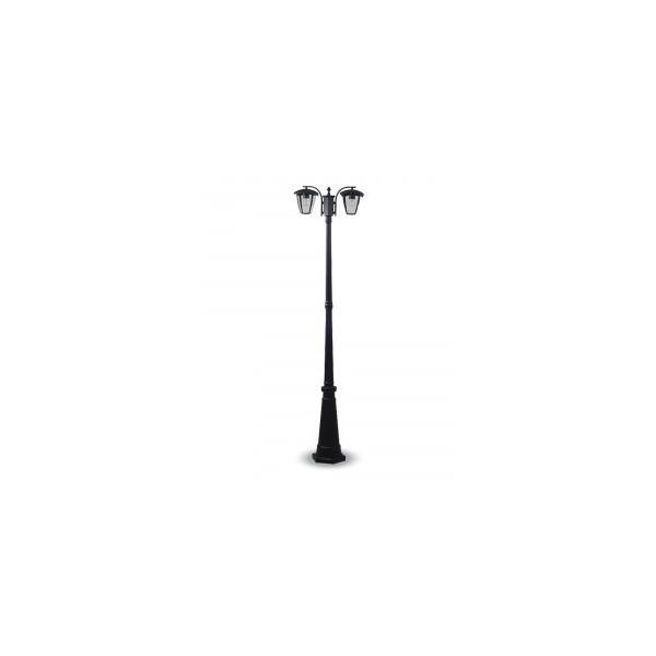 L mpara de pie jard n p 2 bombillas e27 1990mm ip44 - Lampara de jardin ...
