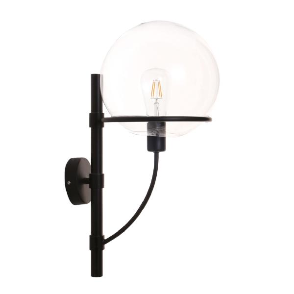 L mpara de pared globe clearglass d210mm virtualleds espa a - Lampara de pared interior ...