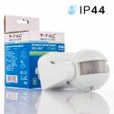 Sensor de Infrarrojos (PIR) de pared 180º  Max 300W (LED)
