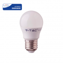 Bombilla LED E27 5,5W»40W 6400K 470Lm G45 Chip SAMSUNG