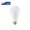 Bombilla LED E27 17W»100W 6400K 1.521Lm A65 Chip SAMSUNG