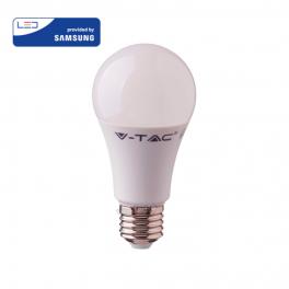 Bombilla LED E27 9W»60W 6400K 806Lm A58 Chip SAMSUNG