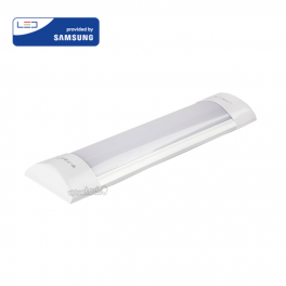 Regleta compacta LED 10W 30cm 4000K 1200Lm Chip SAMSUNG