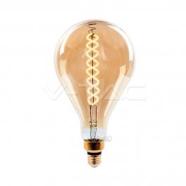 Bombilla LED E27 8W 2000K 500Lm A165 Dim