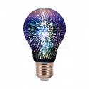Bombilla LED E27 3W 3000K 20Lm A60 FILAMENT 3D