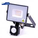Proyector LED 10W 6400K 800Lm Chip Samsung c/sensor b IP65