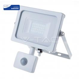 Proyector LED 20W Luz Natural 1600Lm SENSOR w Chip SAMSUNG