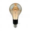 Bombilla LED E27 5W 2200K G100 FILAMENT