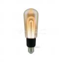 Bombilla LED E27 5W 2200K T60 Filament AMBER