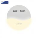 Luces de presencia p/ niños 0.45W 3000K r c/ entrada USB