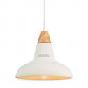 Lámpara de suspensión E27 Nordic Design Blanco