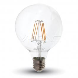 Bombilla LED E27 6W»60W 2700K 806Lm G95 Chip SAMSUNG