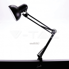 Lámpara de Mesa Designer c/brazo metálico ajustable p/E27 w