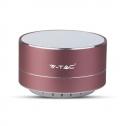 Altavoz Bluetooth Metalizado Rose Gold - Batería 400mAh