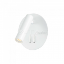 Aplique LED HOTEL DESIGN 3W+6W 3000K 180+500lm blanco C