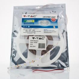 Tira LED 3,6W/m 4500K SMD3528 60LEDs/m 12V IP20 (5 metros)