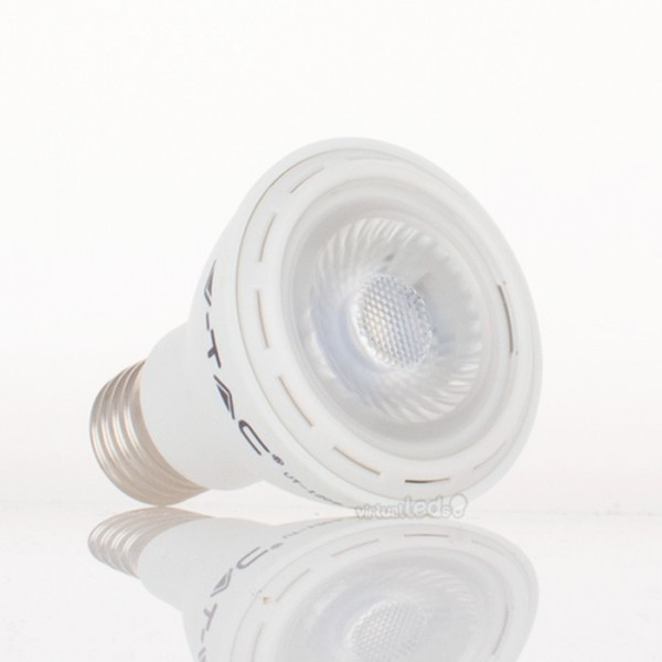 Bombilla led e27 par20 8w 40w luz natural 450lm 40 virtualleds espa a - Bombillas luz natural ...