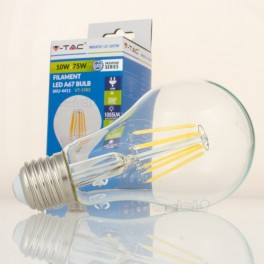 Bombilla LED E27 10w»75W Luz Natural 1055Lm A67 CLEARglass