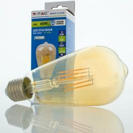 Bombilla LED E27 6w»60W 2200K 500Lm ST64 EDISON VINTAGE