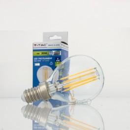 Bombilla LED E14 4w»30W Luz Cálida 320Lm P45 CLEARglass DIM