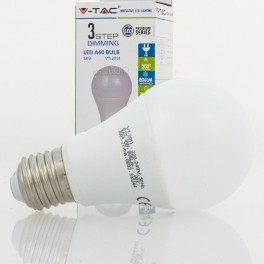 Bombilla led e27 9w 60w luz natural 806lm a60 allround dim 3 virtualleds espa a - Bombillas luz natural ...
