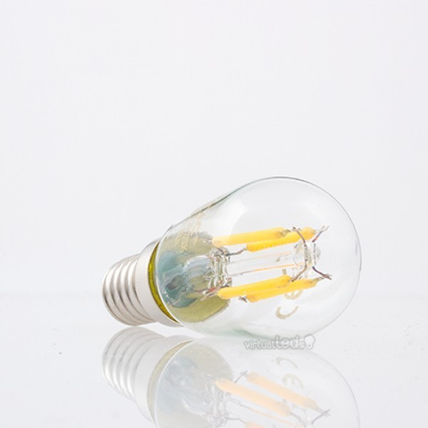 Bombilla led e14 2w 20w luz natural 180lm st26 filamento - Bombilla luz natural ...