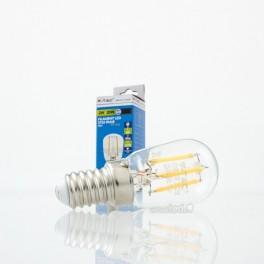 Bombilla LED E14 2w»20W Luz Fría 180Lm ST26 FILAMENTO