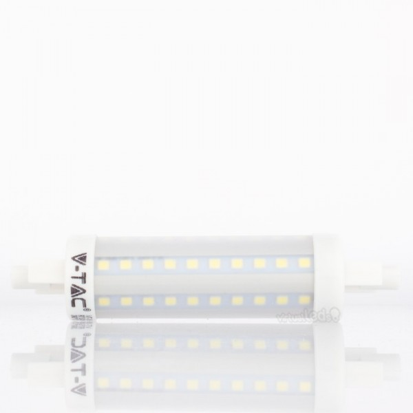 Bombilla led r7s 7w 40w luz natural 470lm virtualleds espa a - Bombilla luz natural ...