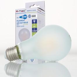Bombilla led e27 9w 80w luz natural a67 frostglass - Bombilla luz natural ...