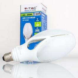 Bombilla LED E27 40w»250W Luz Fría 3.500Lm ED-90