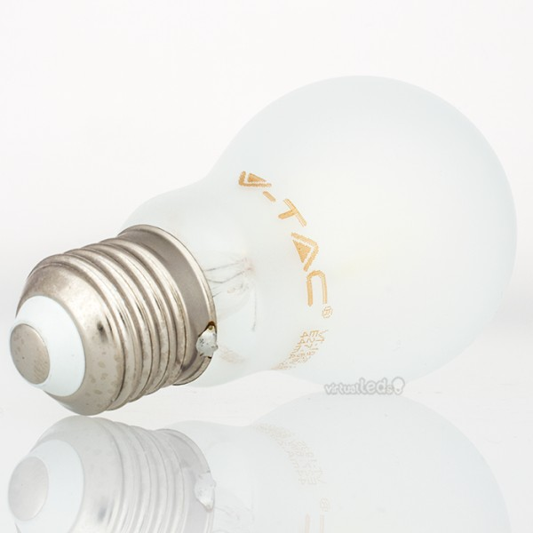 Bombilla led e27 6w 55w luz natural 660lm a60 frostglass virtualleds espa a - Bombillas luz natural ...