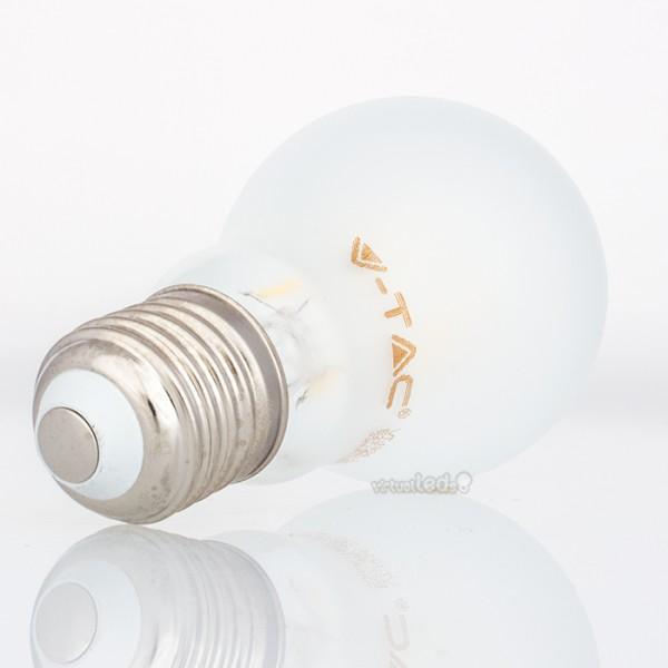 Bombilla led e27 4w 40w luz natural 400lm a60 frostglass - Bombilla luz natural ...