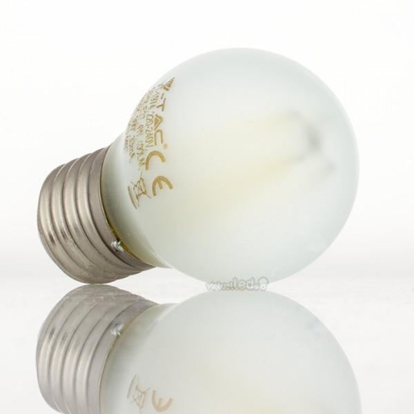 Bombilla led e27 4w 40w luz natural 400lm g45 frostglass - Bombilla luz natural ...