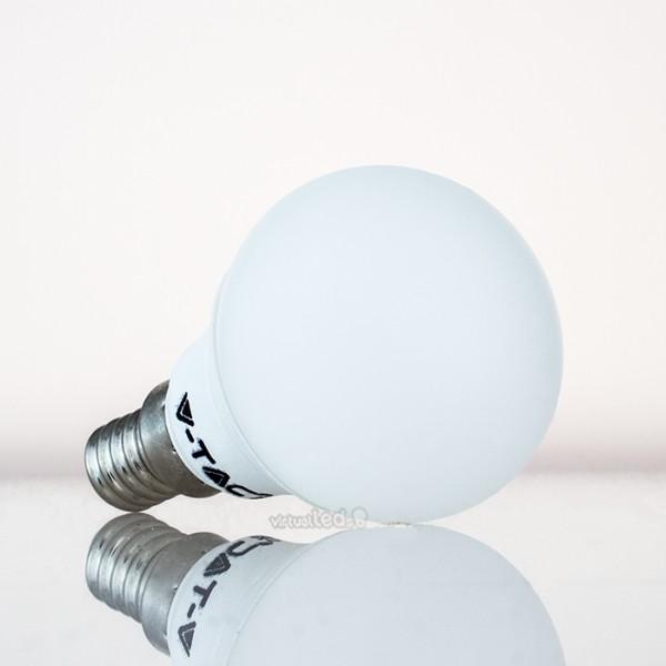 Bombilla led e14 3w 25w luz natural 250lm p45 golfball - Bombilla luz natural ...