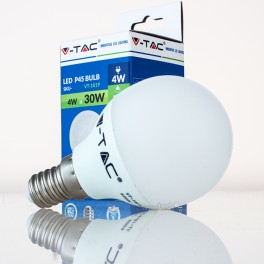 Bombilla LED E14 4w»30W Luz Fría 320Lm P45 GOLFBALL