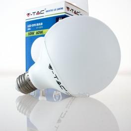 Bombilla LED E27 10w»60W Luz Cálida 810Lm G95 GLOBO
