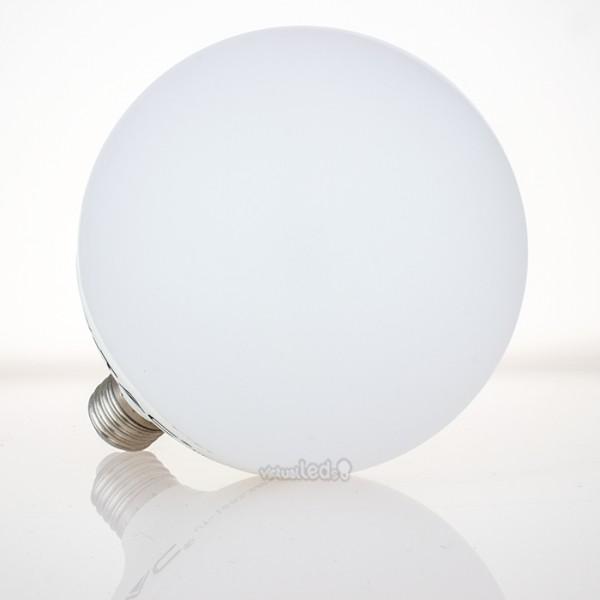 Bombilla led e27 10w 60w luz c lida 810lm g95 globo for Bombilla casquillo fino