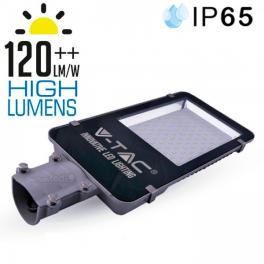 Luminária Rua LED 100W 6000K 12.400Lm PREMIUM SLIM Hi