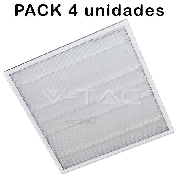 4 un painel led low cost 36w 600x600 6400k 2em1 virtualleds portugal. Black Bedroom Furniture Sets. Home Design Ideas