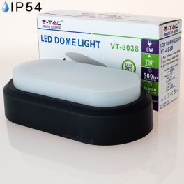 Aplique LED 8w»40W Luz Quente 560Lm ROB DOME
