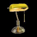 Candeeiro de Mesa p/ lâmpada E27 CLASSIC gold