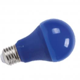 Lâmpada LED E27 9W Luz Azul 270Lm A60