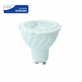Lâmpada LED GU10 6.5W»60W 3000K 480Lm 110º Chip SAMSUNG