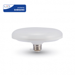 Lâmpada LED E27 24W 3000K 1900Lm UFO F200 Chip SAMSUNG