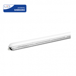 Armadura compacta LED 60W 120cm 6400K 7200Lm Chip SAMSUNG