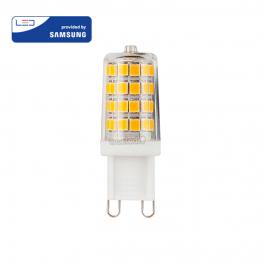 Lâmpada LED G9 3W»25W 6400K 300Lm Chip SAMSUNG