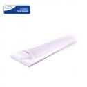 Armadura compacta LED 40W 120cm 6400K 4800Lm Chip SAMSUNG