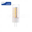 Lâmpada LED G4 3.2W 6400K 385Lm 12V Chip SAMSUNG
