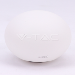 Bola Oval Decorativa 1W RGB D20*14cm IP65