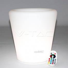 Pote Decorativo 1W RGB D28*29cm IP54
